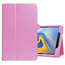 Samsung Galaxy Tab A 10.5 flip hoes - Roze