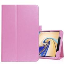 Samsung Galaxy Tab S4 10.5 flip hoes - Roze
