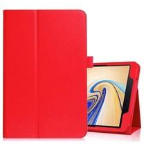 Samsung Galaxy Tab S4 10.5 flip hoes - Rood