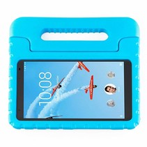 Schokbestendige hoes met handvat - Lenovo Tab 4 8.0 Plus - Licht Blauw