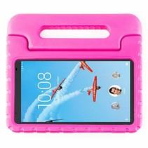 Lenovo Tab 4 8.0 Plus hoes - Schokbestendige case met handvat - Magenta
