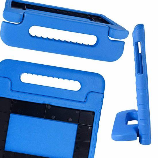 Case2go Lenovo Tab 4 10 Plus hoes - Schokbestendige case met handvat - Blauw