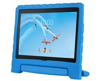 Lenovo Tab 4 10 Plus hoes - Schokbestendige case met handvat - Blauw