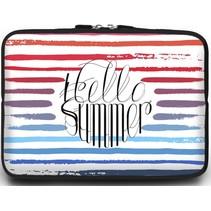 Macbook en Laptop sleeve - 13.3 inch - Hello Summer