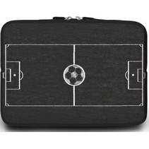 Macbook en Laptop sleeve - 13.3 inch - Voetbalveld