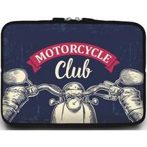 Universele Laptop Sleeve - 15.6 inch - Motorcycle Club