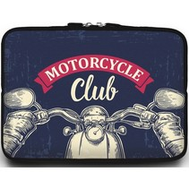 Universele Laptop Sleeve - 10.2 inch - Motorcycle Club