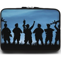 Universele Laptop Sleeve - 10.2 inch - Soldaten