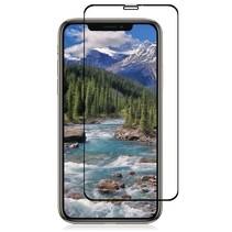 iPhone XS Max - Full Cover Screenprotector - Zwart