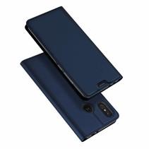 Dux Ducis Skin Pro Motorola Moto One Power - Blauw