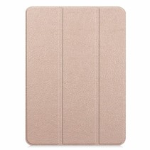 Apple iPad Pro 11 (2018) hoes - Tri-Fold Book Case - Goud
