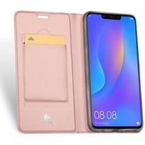 Huawei P Smart Plus hoesje - Dux Ducis Skin Pro Book Case - Roze