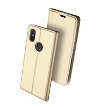 Xiaomi Redmi Note 6 Pro hoesje - Dux Ducis Skin Pro Book Case - Goud