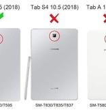 Case2go Samsung Galaxy Tab A 10.5 flip hoes - Magenta