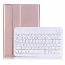 Huawei Mediapad M5 10.8 Case - Bluetooth toetsenbord hoes - QWERTY layout - Magneetsluiting - Sleep/Wake-up functie - Rosé-Goud