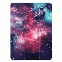 Apple iPad Pro 11 hoes - Tri-Fold Book Case - Galaxy