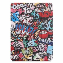 Apple iPad Pro 11 hoes - Tri-Fold Book Case - Graffiti