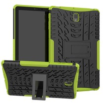 Samsung Galaxy Tab S4 10.5 Schokbestendige Back Cover - Groen