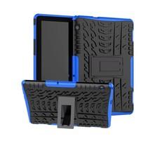 Huawei Mediapad T5 10 - Schokbestendige Back Cover - Blauw
