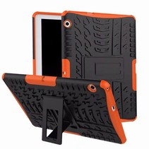 Huawei Mediapad T3 10 - Schokbestendige Back Cover - Oranje