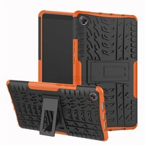 Apple iPad Pro 11 (2018) hoes - Schokbestendige Back Cover - Oranje