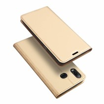 Samsung Galaxy A6s hoesje - Dux Ducis Skin Pro Book Case - Goud