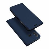Samsung Galaxy A6s hoesje - Dux Ducis Skin Pro Book Case - Blauw