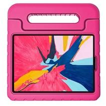 iPad Pro 12.9 2018 hoes - Schokbestendige case met handvat - Magenta