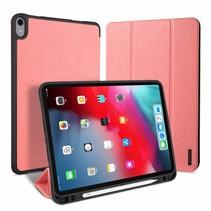 Apple iPad Pro 11 (2018) hoes - Dux Ducis Domo Book Case met stylus pen houder - Roze