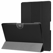 Acer Iconia tab 10 (A3-A50) Tri-fold Book Case - Zwart