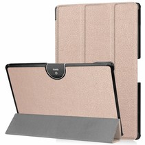 Acer Iconia tab 10 (A3-A50) Tri-fold Book Case - Rosé Goud