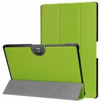 Acer Iconia tab 10 (A3-A50) Tri-fold Book Case - Groen