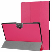 Acer Iconia tab 10 (A3-A50) Tri-fold Book Case - Magenta