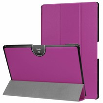 Acer Iconia tab 10 (A3-A50) Tri-fold Book Case - Paars