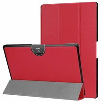 Acer Iconia tab 10 (A3-A50) Tri-fold Book Case - Rood