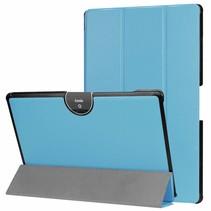 Acer Iconia tab 10 (A3-A50) Tri-fold Book Case - Licht blauw