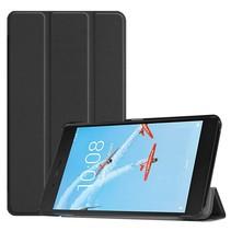 Lenovo Tab E7 hoes - Tri-Fold Book Case - Zwart
