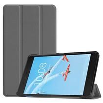 Lenovo Tab E7 hoes - Tri-Fold Book Case - Grijs