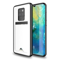 Huawei Mate 20 hoesje - Dux Ducis Pocard Back Cover - Wit