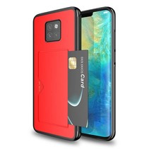 Huawei Mate 20 Pro hoesje - Dux Ducis Pocard Back Cover - Rood