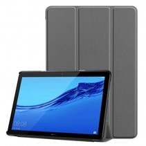 Huawei MediaPad T5 10 - Tri-fold Book Case - Grijs