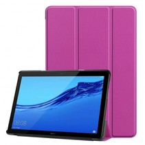 Huawei MediaPad T5 10 - Tri-fold Book Case - Paars