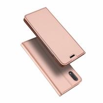 Vivo X21 hoesje - Dux Ducis Skin Pro Book Case - Roze