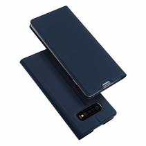 Samsung Galaxy S10 hoesje - Dux Ducis Skin Pro Book Case - Blauw