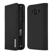 Wish Series Lederen Book Case - Huawei Mate 10 Zwart