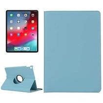 Apple iPad Pro 11 (2018) case - 360 graden draaibare hoes - Licht Blauw