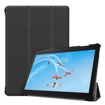 Lenovo Tab P10 hoes - Tri-fold Book Case - Zwart