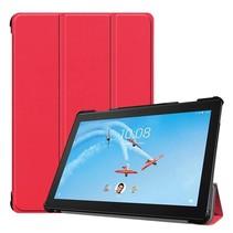 Lenovo Tab P10 hoes - Tri-fold Book Case - Rood