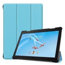 Lenovo Tab P10 hoes - Tri-fold Book Case - Licht Blauw
