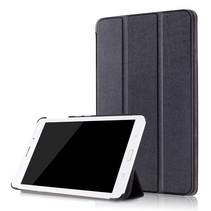 Samsung Galaxy Tab A 8.0 SM-T380 Tri-Fold Book Case - Zwart